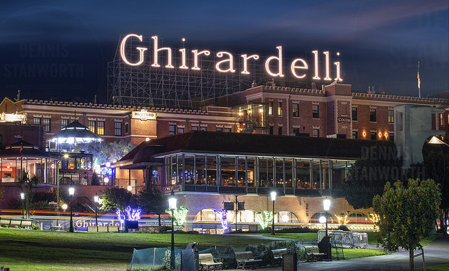 Ghirardelli Electric Sign