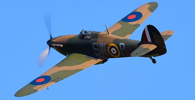 RAF Hawker Siddeley Hurricane Mk1 SW-P G-HITT P3717