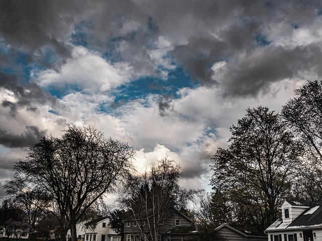 front yard sky photo