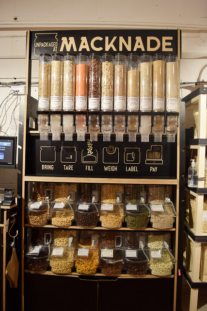Zero Waste Dispensers at Macknade Fine Foods