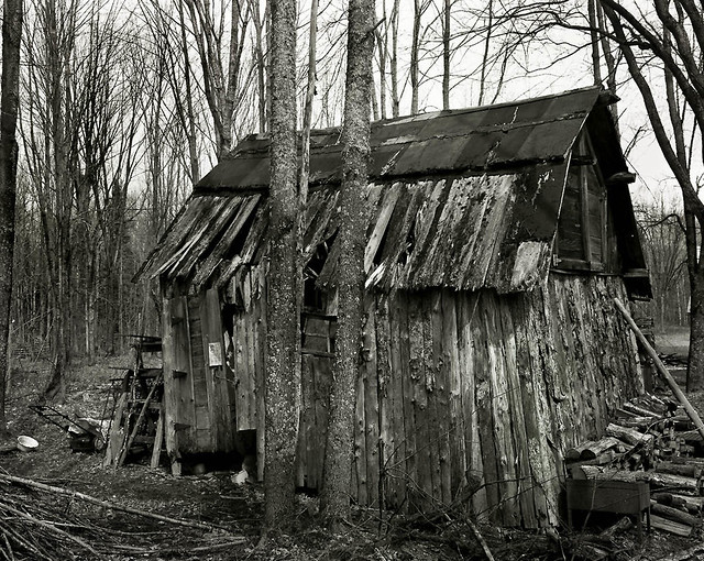 Woodshed-Historic Old Victoria Mine Location