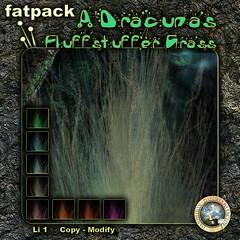 DDDF A'Dracunas Fluffstuffer Grass Fatpack RFL