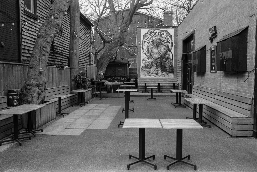 Stone Lion Patio Isn't Open Anytime Soon