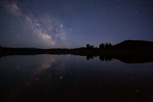 Fade to Night in Wyoming