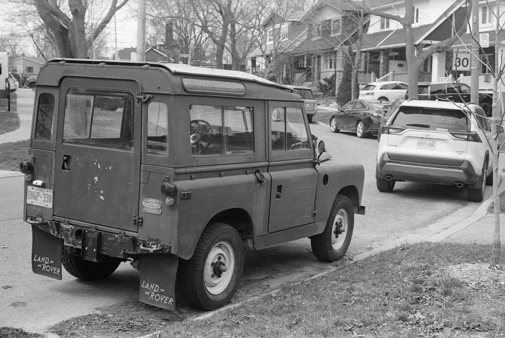 Early Land Rover Back _
