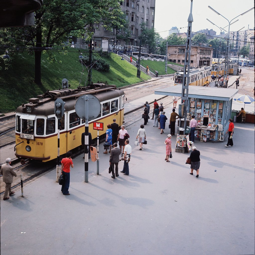 07. Остановка трамвая, Будапешт