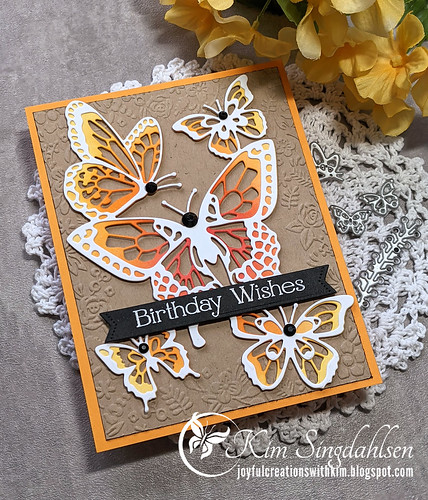 Butterfly Birthday side