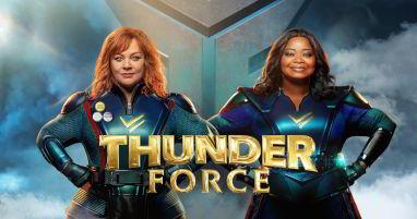 Where was Thunder Force filmed
