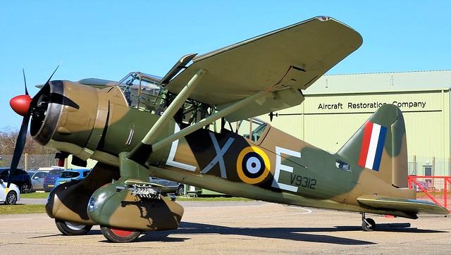 RAF Westland Lysander V9312 G-CCOM LX-E