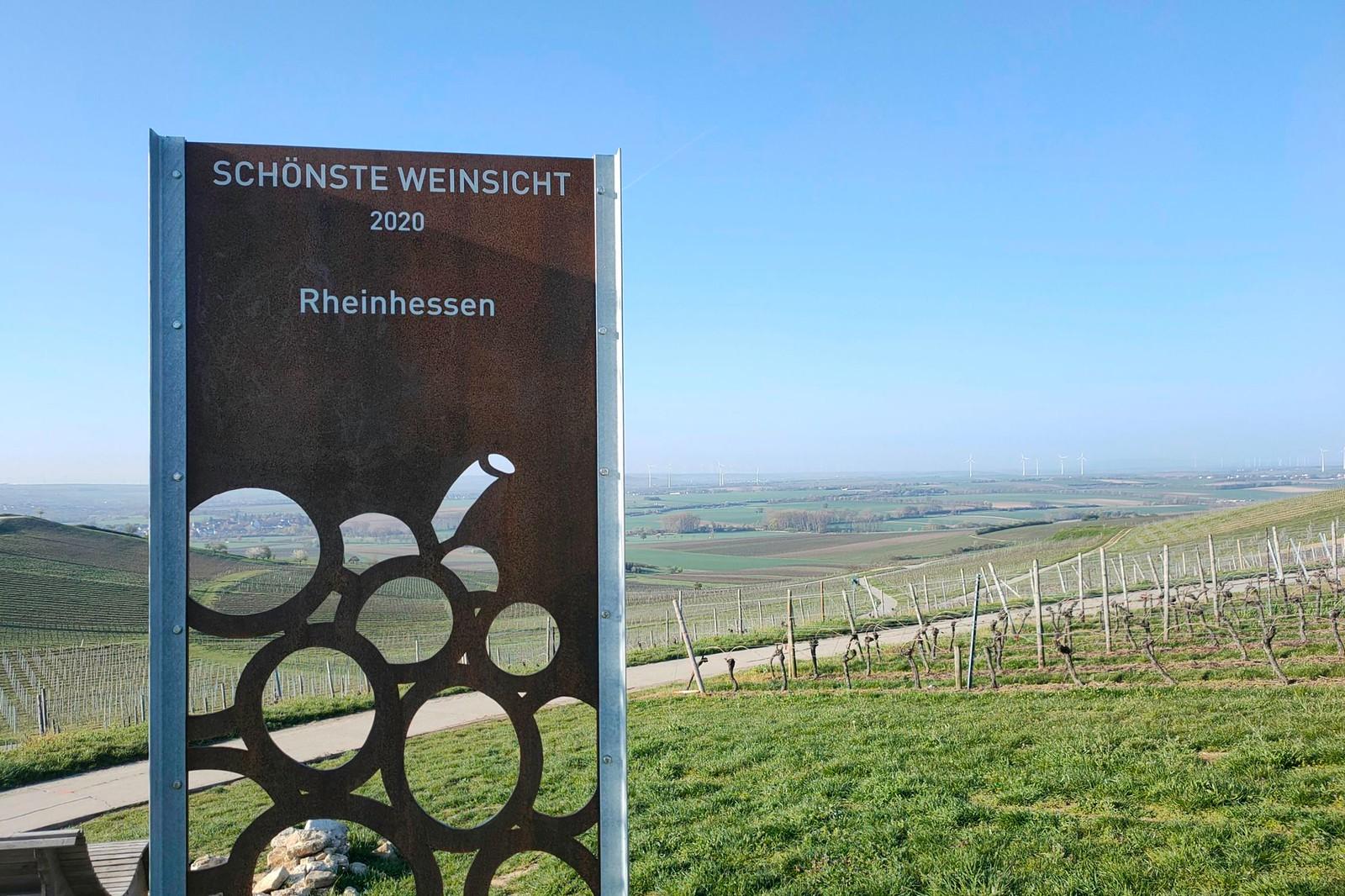 Schönste Weinsicht 2020 Rheinhessen
