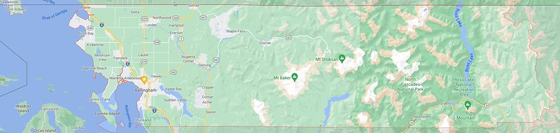 Whatcom County Map