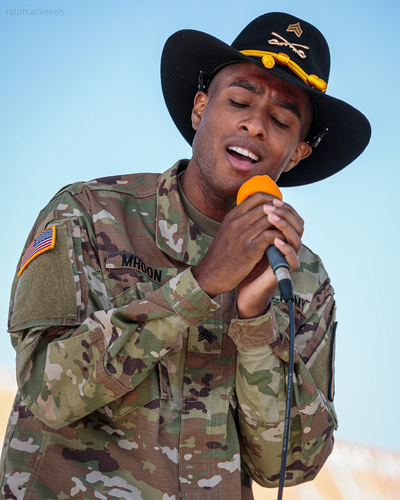 1st Cavalry Division Rock Band | Texas Review | Ralph Arvesen