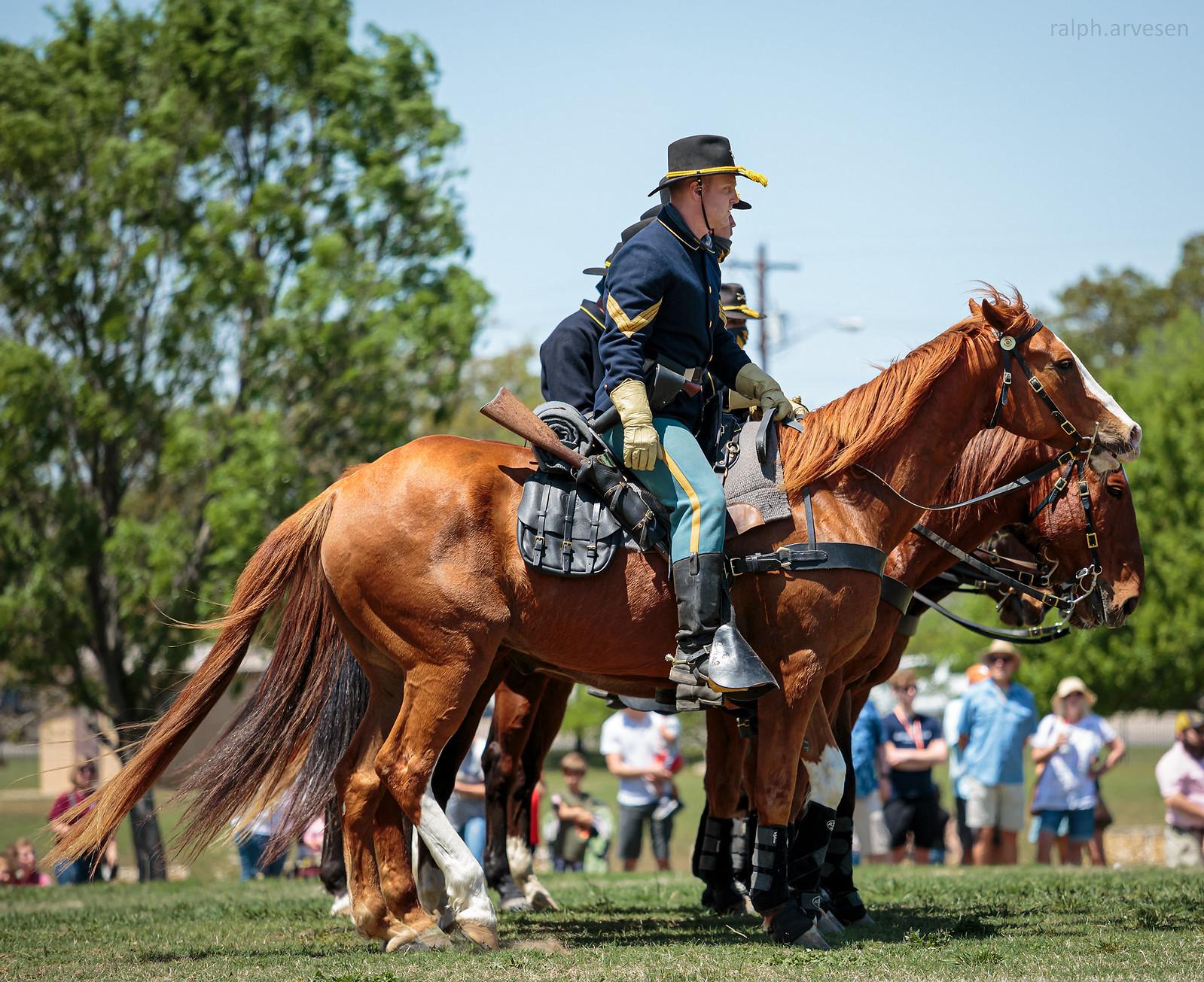 1st Cavalry Division Horse Cavalry Detachment | Texas Review | Ralph Arvesen