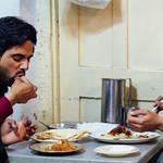 Men Eating Lunch, Nowshera, Pakistan