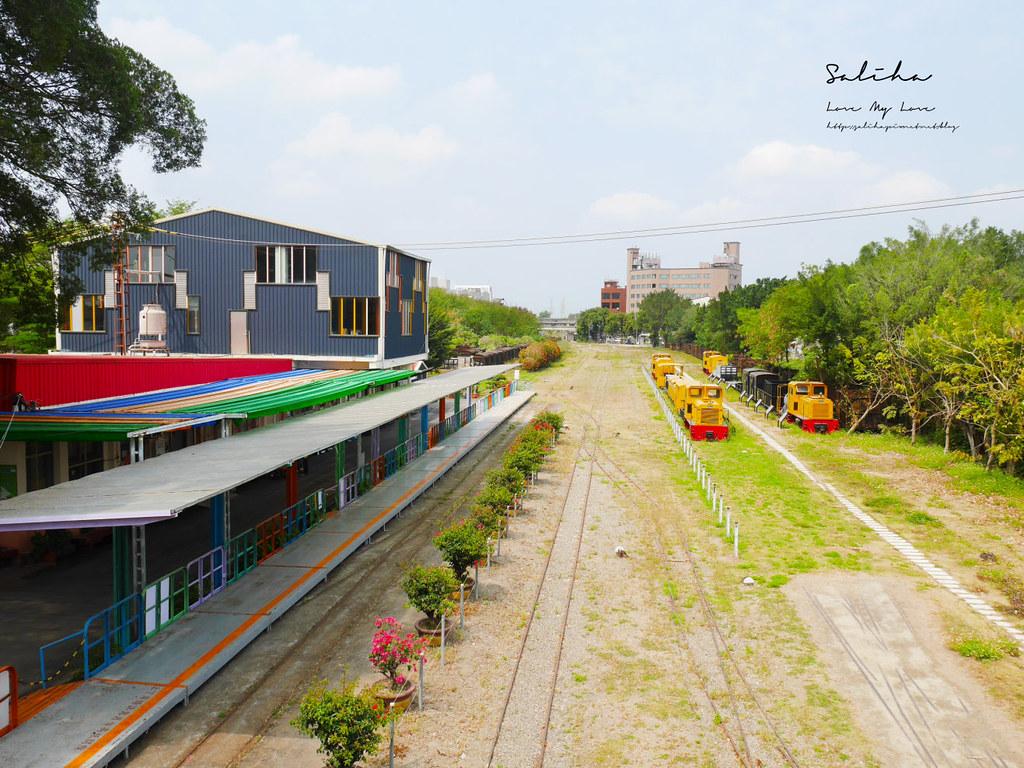 台南一日遊景點新營鐵道文化園區草原小火車火車迷鐵道迷必來 (3)