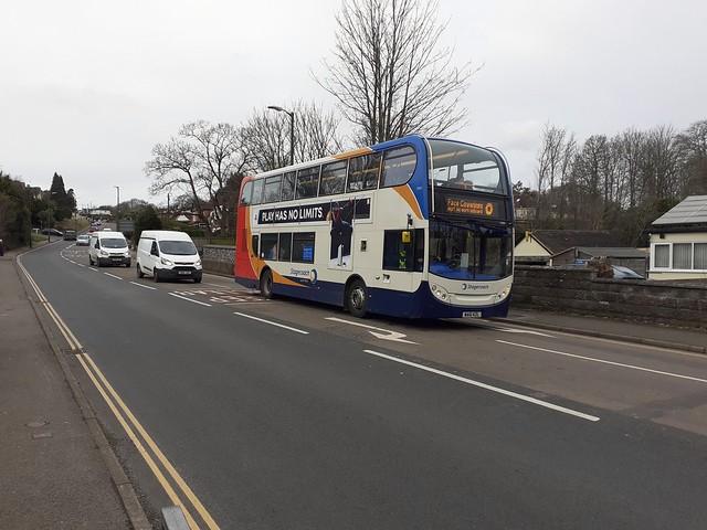 Shiphay Lane, Torquay, 12/02/21