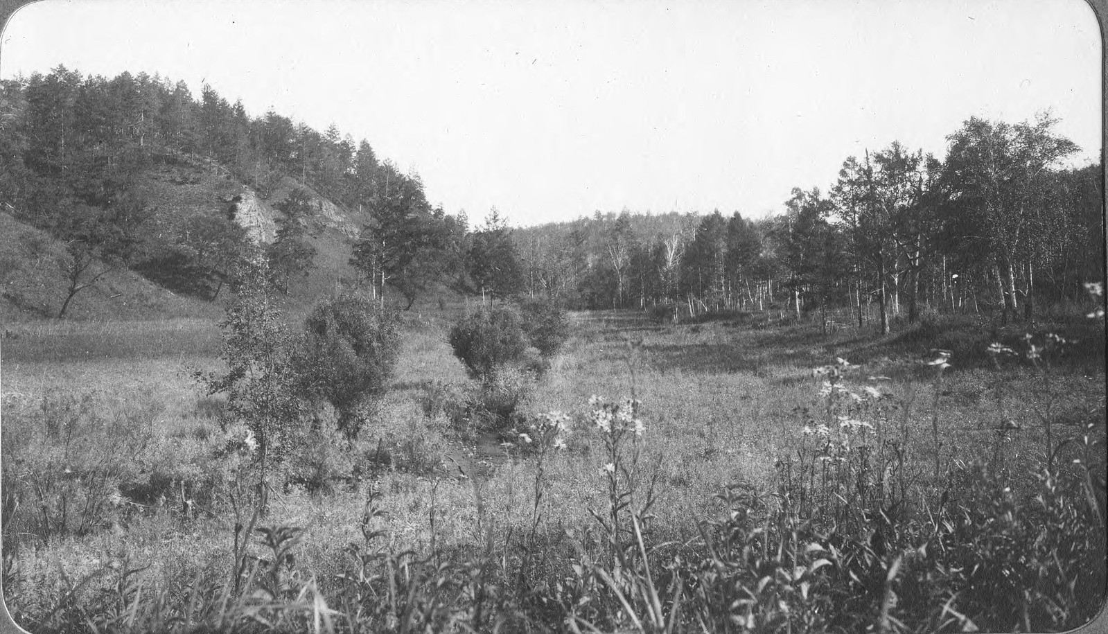 Вид долины Ключа.