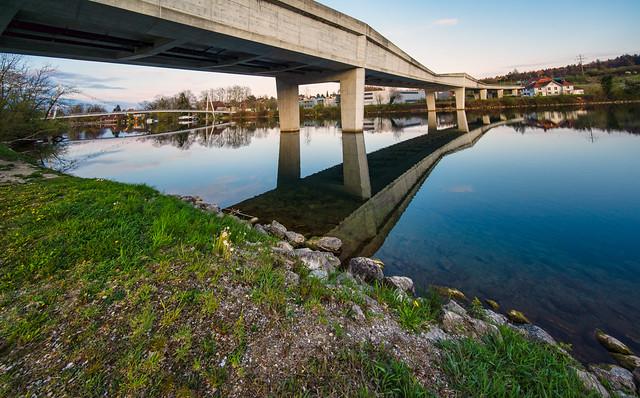 Bridges over the Aare