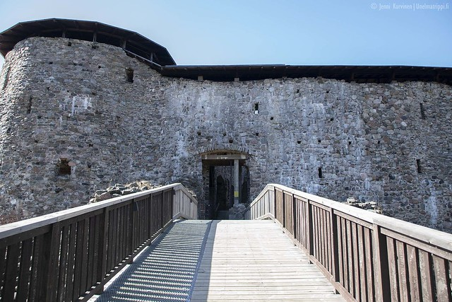 Raaseporin linnan sisäänkäynti