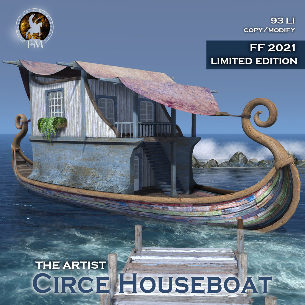 "F&M * Circe Houseboat * The Artist "" FF2021 LE"