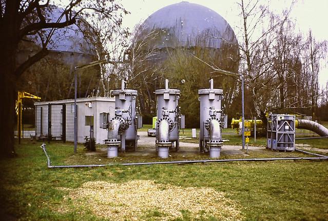 Gaswerk Berlin Mariendorf 7.3.2021