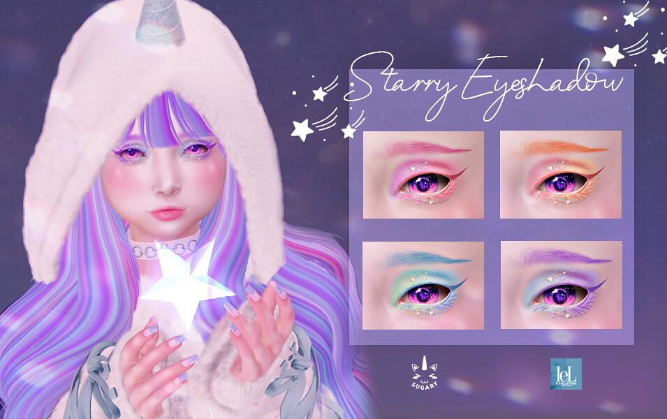 ✿ {SUGARY} Starry Eyeshadow - Lelutka Evo ✿