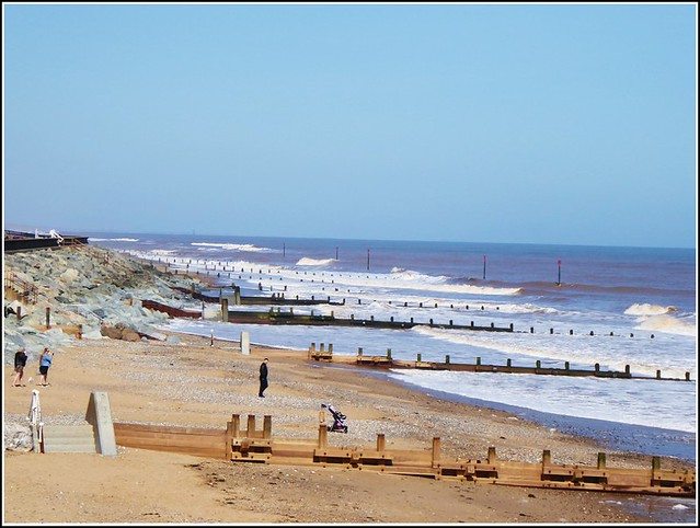 North Beach at Withernsea ..