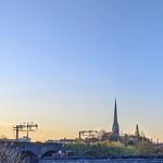 Morning skies over Preston