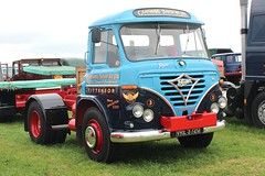 robertknight16 posted a photo:Foden S36 Tractor Unit (1969) Engine Gardner 180Livery Grayswood Transport, Tittensor, Stoke on TrentRegistration Number VRE 372 G (Staffordshire) FODEN SETwww.flickr.com/photos/45676495@N05/sets/72157623789275606...Looking fantastic after a recent restoration, VRE 372 G spent much of its working life with the Bassets Group based in Tittensor, Stoke-on-Trent, and sometimes in the livery of their subsiduary company Grayswood Transport,Thanks for a stunning 59,780,632 viewsDiolch am 59,780,632 gwych, golygfeydd, mwy na phoblogaeth y Lloegr honno yn y GorllewinShot 28.05.2017 at the Smallwood Vintage Rally, Love Lane Farm, Betchton, Sandbach  REF 127-114