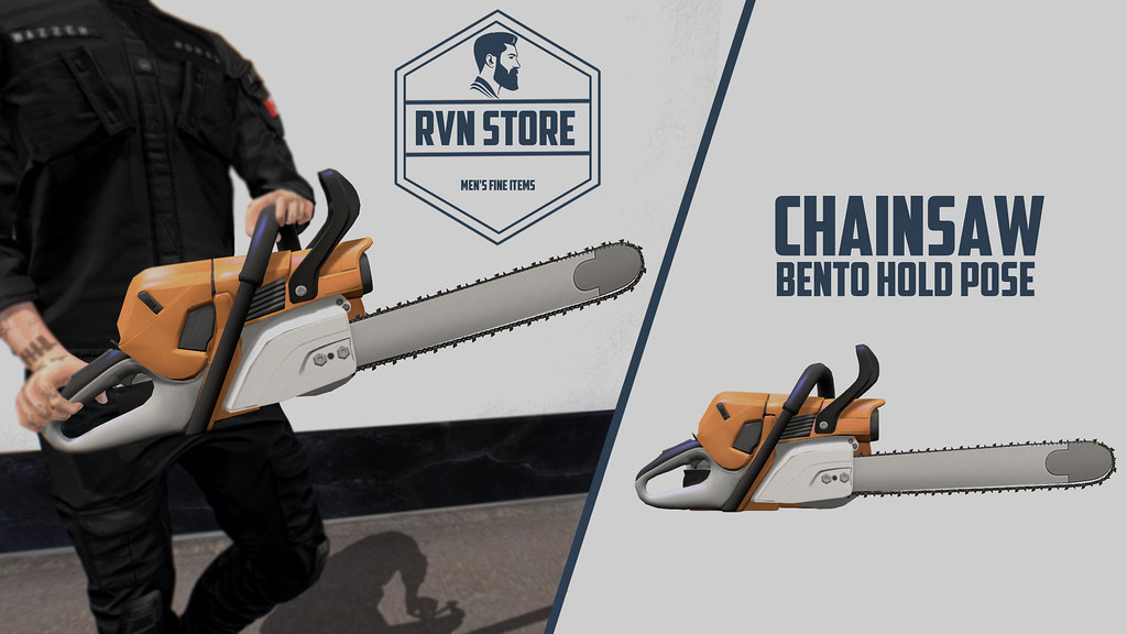 rvn - holdable chainsaw
