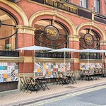 Outdoor dining at Fino's Spanish Tapas in Preston