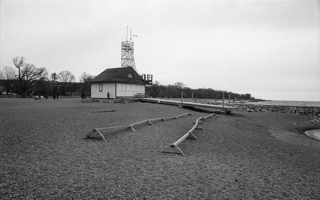 Leauty Life Guard Hut before Beach Season