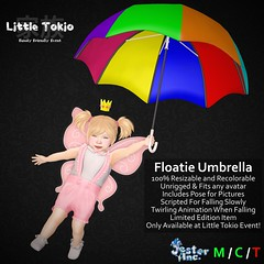 Presenting the new Floatie Umbrella from Jester Inc.