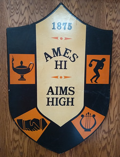 Ames High School Ames Hi Aims High crest logo IMG_20190928_114543600 #AHScrest