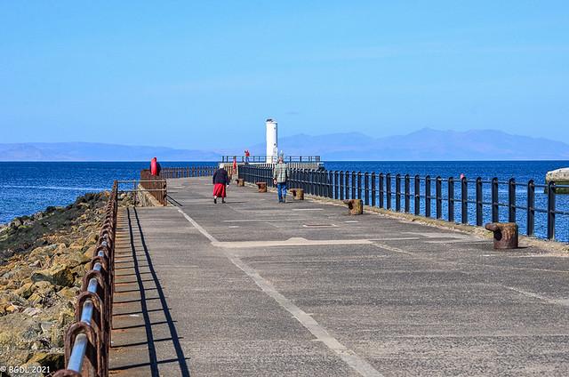 Along The Pier!