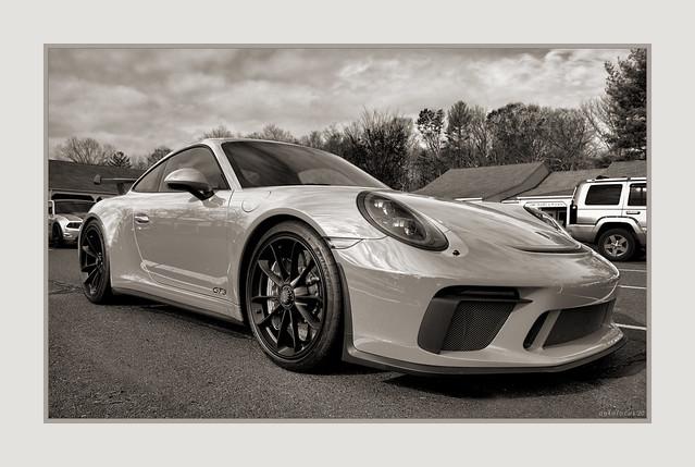 Warmed Porsche GT3