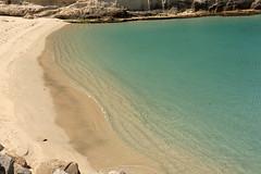 Spiaggia mare piccolo