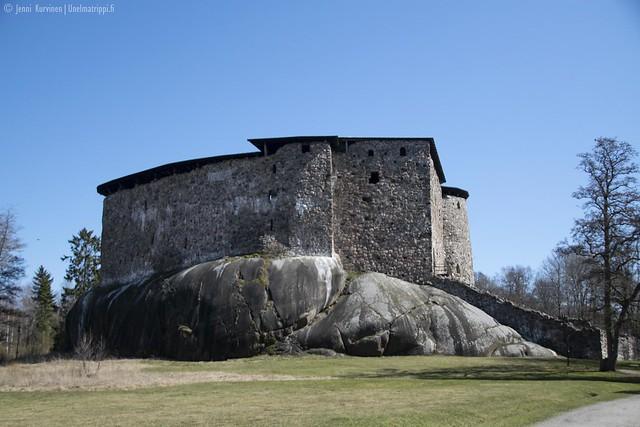 Raaseporin linna ulkoa