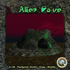 DDDF ADracunas Alien Cave