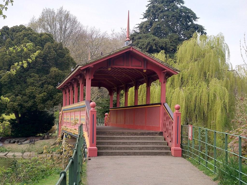 Swiss Bridge, Birkenhead Park, Liverpool