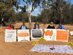 Picnic with Gomeroi on Country, Bohena Creek, Pilliga