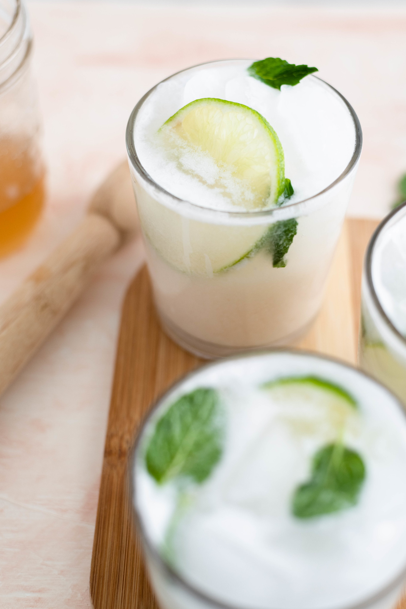 Mix up a few Coconut Mojitos for the ultimate tropical vibes at home. Packed full of sweet coconut flavor, this drink will quickly become a summertime favorite.
