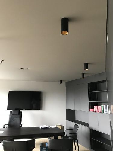 etude notariale plafond tendu poivre