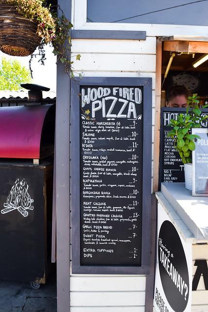 Pizza Menu at Macknade Food Village