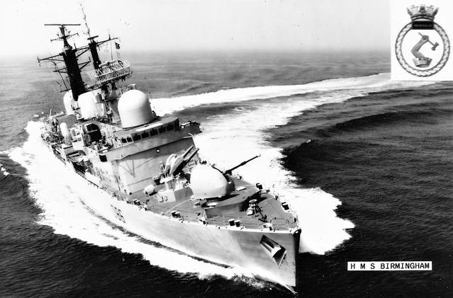 HMS BIRMINGHAM D86