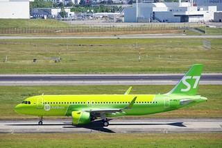 A320n VP-BSL S7 delivery