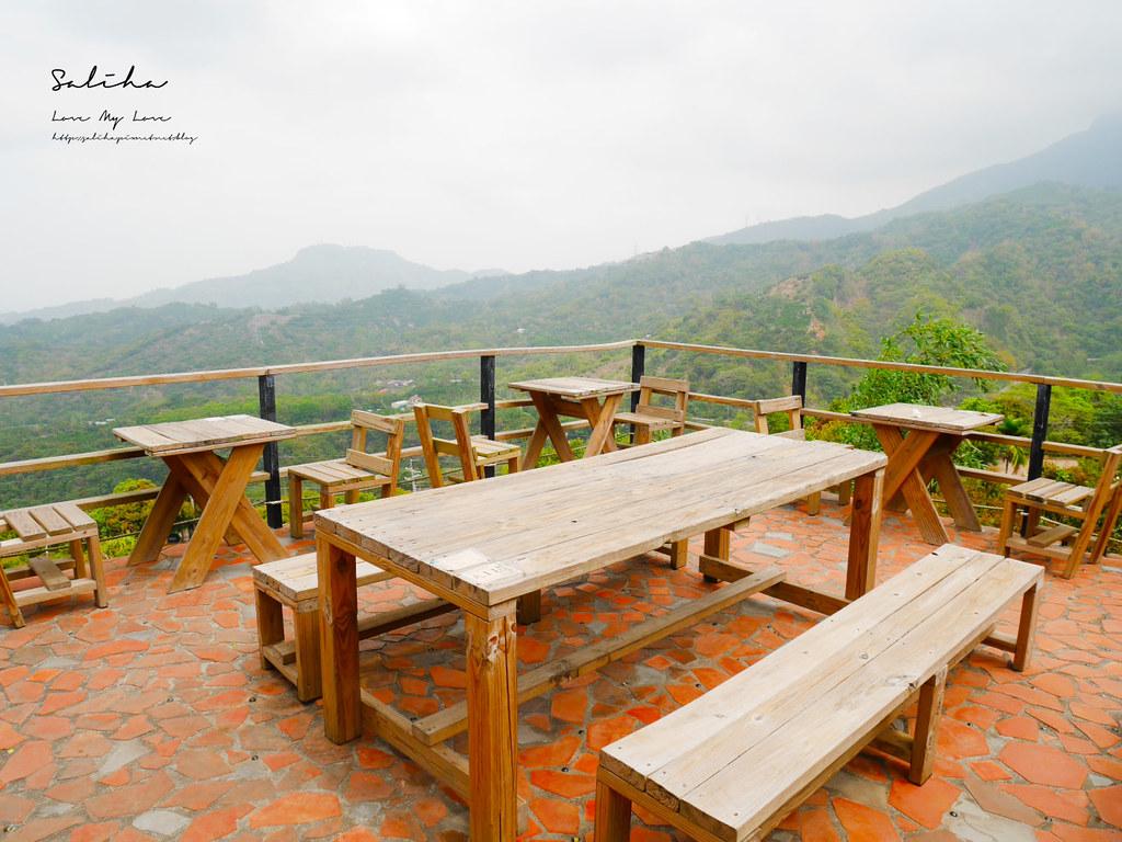 台南東山一日遊咖啡廳下午茶推薦大鋤花間咖啡生態農場景觀餐廳風景優美 (5)