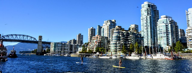 False Creek rowing
