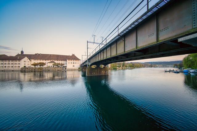 Railway Bridge over the Aare