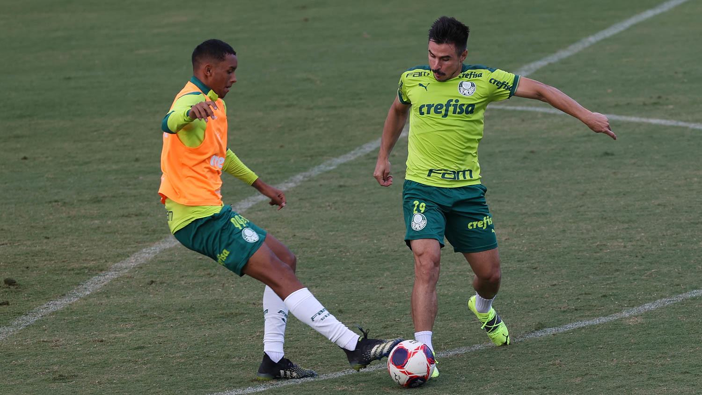 Com Gabriel Menino e Zé Rafael, Palmeiras se prepara para encarar Guarani; veja provável escalação - Palmeiras